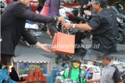 Usung Eco Ifthar On The Road  Muslimah Wahdah Komitmen Kurangi Sampah Plastik
